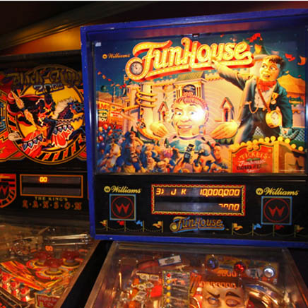 Funhouse Pinball Game